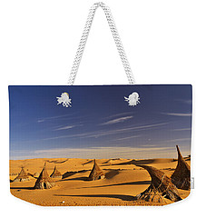Desert Village Weekender Tote Bag