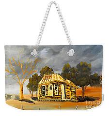 Deserted Castlemain Farmhouse Weekender Tote Bag