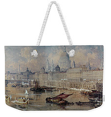 Design For The Thames Embankment Weekender Tote Bag by Thomas Allom