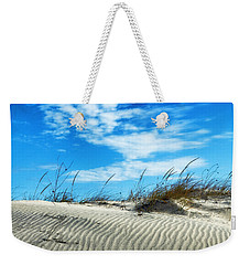 Designs In Sand And Clouds Weekender Tote Bag by Gary Slawsky