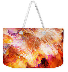 Desire - Abstract Art Weekender Tote Bag by Jaison Cianelli