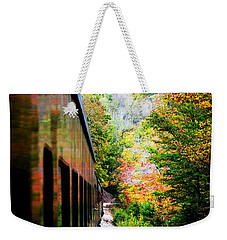 Weekender Tote Bag featuring the photograph Destination by Faith Williams
