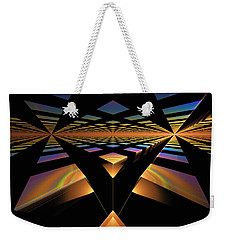 Destination Paths Weekender Tote Bag by GJ Blackman