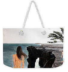 Destinos Weekender Tote Bag by Lazaro Hurtado