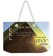 Your Destiny Waits Weekender Tote Bag
