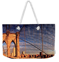 Details Of The Brooklyn Bridge, New Weekender Tote Bag
