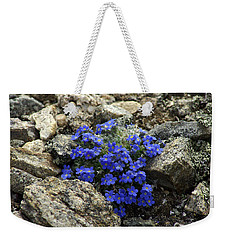 Weekender Tote Bag featuring the photograph Determination by Jeremy Rhoades