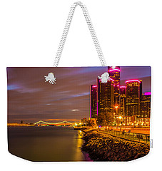Detroit Riverwalk Weekender Tote Bag