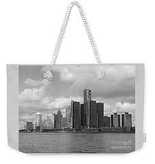 Detroit Skyscape Weekender Tote Bag