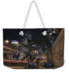 Detroits Zoo Weekender Tote Bag by Nicholas  Grunas