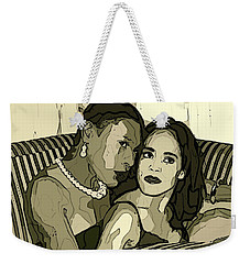 Weekender Tote Bag featuring the photograph Deux by Alice Gipson