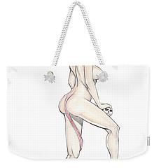Devilgirl Weekender Tote Bag by Jimmy Adams