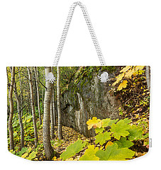 Devil's Club In Autumn Weekender Tote Bag