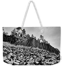 Devils Postpile National Monument Weekender Tote Bag