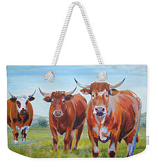 Devon Cattle Weekender Tote Bag