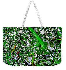 Dew Beads Weekender Tote Bag