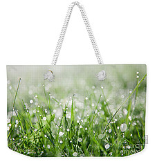 Dew Drenched Morning Weekender Tote Bag by Jan Bickerton