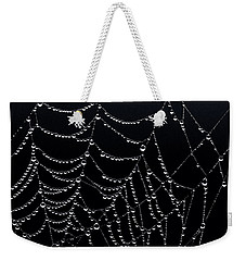 Dew Drops On Web 2 Weekender Tote Bag