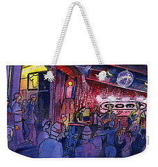 Dewey Paul Band At The Goat Weekender Tote Bag