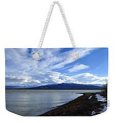 Dezadeash Lake Weekender Tote Bag