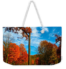 Weekender Tote Bag featuring the photograph Loneliness by Zafer Gurel