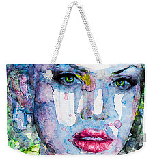 Different Is Inspiring Weekender Tote Bag by Laur Iduc