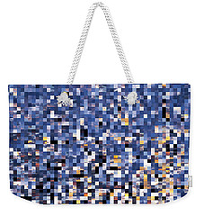 Digital Sunset Weekender Tote Bag