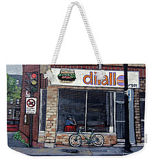 Dilallo Notre-dame Ouest  Weekender Tote Bag by Reb Frost