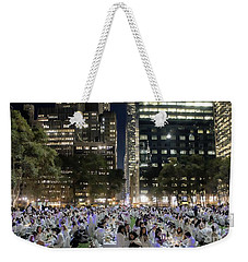 Diner En Blanc New York 2013 Weekender Tote Bag