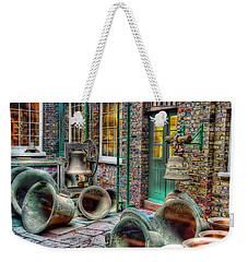 Weekender Tote Bag featuring the photograph Ding Dong Hosiptal by Ron Shoshani