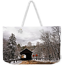 Weekender Tote Bag featuring the photograph Dingleton Hill Bridge by Mike Martin