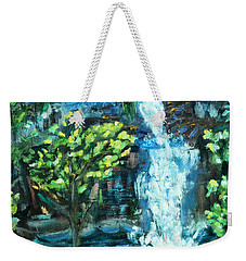 Dingman Falls Eastern Pennsylvania Weekender Tote Bag