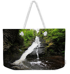 Dingmans Falls Weekender Tote Bag by Trina  Ansel