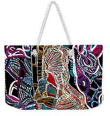 Dinka Bride Weekender Tote Bag by Gloria Ssali