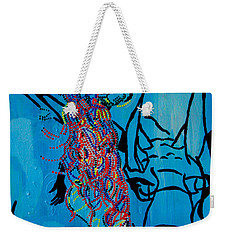 Dinka Groom - South Sudan Weekender Tote Bag
