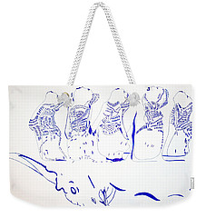 Dinka Wise Virgins -south Sudan Weekender Tote Bag