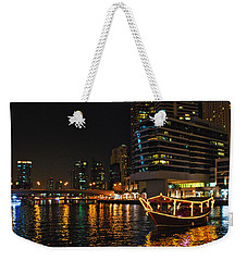 Dinner Cruise Dubai Weekender Tote Bag