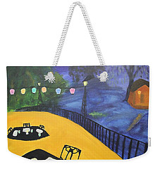 Dinner On The Bayou Weekender Tote Bag