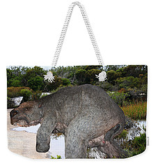 Weekender Tote Bag featuring the photograph Diprotodon by Miroslava Jurcik