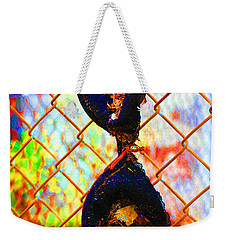 Weekender Tote Bag featuring the photograph Dirty Laundry by Christiane Hellner-OBrien