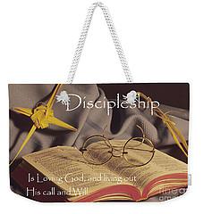 Discipleship Weekender Tote Bag