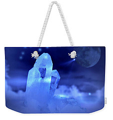 Weekender Tote Bag featuring the photograph Discoveries by Joyce Dickens
