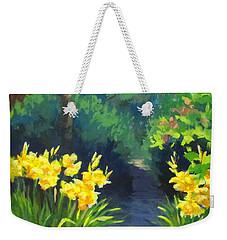 Discovery Garden Weekender Tote Bag