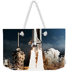 Discovery Hubble Launch Sts-31 Weekender Tote Bag