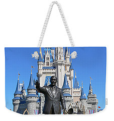 Disney And Mickey Weekender Tote Bag by Kevin Fortier