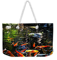 Disney Epcot Japanese Koi Pond Weekender Tote Bag