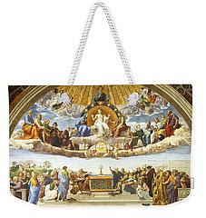 Disputation Of Holy Sacrament. Weekender Tote Bag