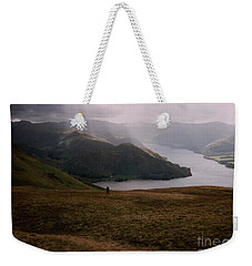 Distant Hills Cumbria Weekender Tote Bag by John Williams