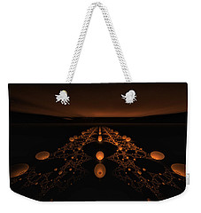 Distant Runway Weekender Tote Bag by GJ Blackman