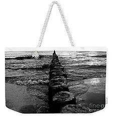 Distant Seagull Baltic Beach Weekender Tote Bag